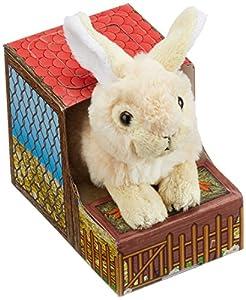 Heunec 850477-Conejo en el Establo, Color: 14cm, Color marrón