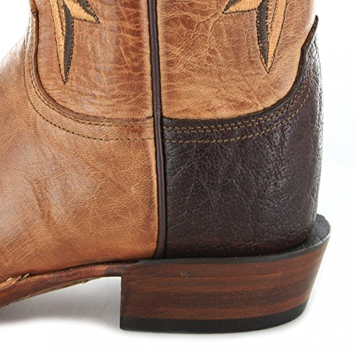Lucchese  Madison, Bottes et bottines cowboy femme Marron - Tan