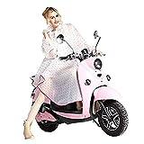 K-way Femme Poncho-pluie Capuche Imperméable Vêtement de pluie Transparent - Très Chic Mailanda (Rose)