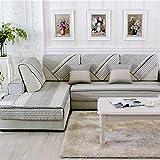 Best Home Fashion Designs Covers Sofa - Four Seasons Modern Sofa Canapé Sièges Sièges Mat Review