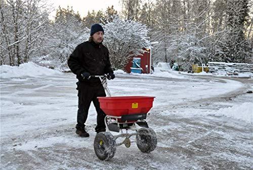 Industrie Salzstreuer – Profigerät mit Regenabdeckung   Salzstreuwagen Streuwagen Salz streuen;;;;; - 5