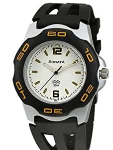 Sonata Analog Multi-Color Dial Men's Watch - NF7929PP01J