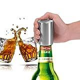 Automatische Bier Flaschenöffner mit magnetischer Cap Catcher, Edelstahl Wein Öffner für kohlensäurehaltige Getränke, Wasser, Soda öffnen vermeiden Hand verletzt