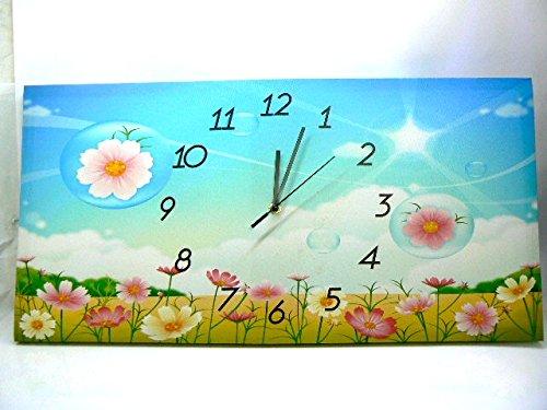 quadro-reloj-grsance-cm-60x-30con-protagonista-csped-flores-con-marco-serigrafiado-autntica-lienzo-p