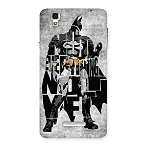 Impressive Everything Knight Multicolor Back Case Cover for YU Yureka Plus
