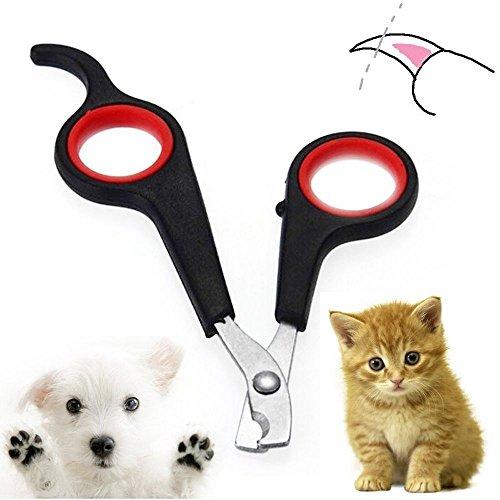 outopen Tragbar Pflege Maniküre Puppy Kitten Clipper Katze Hund Trimmer Pet Nail Cutter Krallen Schere