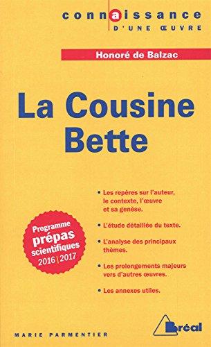 La Cousine Bette, Honoré de Balzac