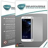 Slabo 4 x Displayschutzfolie für Huawei P10 Lite Displayfolie Schutzfolie Folie Zubehör No Reflexion MATT