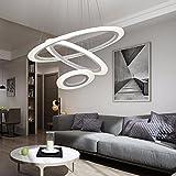 HUANGXIN & LIEF Wohnzimmer Kronleuchtern LED-Lampen moderne Home Zimmer Schlafzimmer Lampen runder Ring Restaurants Speisesaal mit Kronleuchtern Deckenleuchten in der Nähe der Decke Lampen LED Electrodeless Dimmen