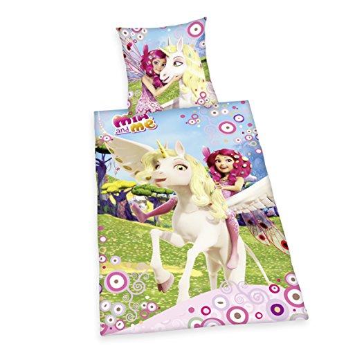 Herding-4400204050-Mia-and-Me-Bettwsche-Baumwolle-rosa-135-x-200-x-cm
