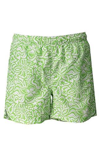 Preisvergleich Produktbild GANT Herren Badeshorts Mikrofaser Badehose Floral, Größe: M, Farbe: Grün