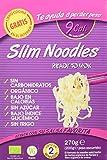Slim Pasta Noodles Harina Orgánica de Konjac - 5 Paquetes de 270 gr - Total: 1350 gr