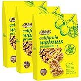 Tulsi California Walnuts Kernels Premium 600gm (200gm x 3)