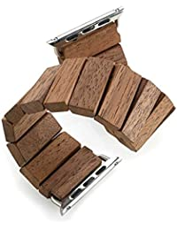 WeWOOD The trift pulsera de madera para Apple Watch 1 y 2