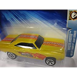 2004 Hot Wheels #169 WASTELANDERS -1970 Plymouth ROAD RUNNER - Safety Yellow - Collectors.com car by Mattel