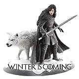 Pegatina de Juego de Tronos de Nieve y lobo, vinilos de invierno para ordenador portátil,...