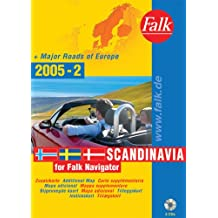 Falk Navigator Zusatzkarte Skandinavien