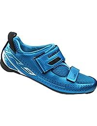 Shimano SHTR9NC470SB00 Zapatillas de ciclismo de carretera, Hombre, Azul (Blue), 47 EU (12.5 UK)