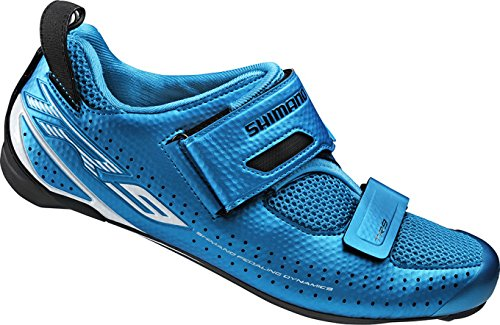 Shimano, Scarpe da ciclismo triathlon Unisex adulto SH-TR9 GR. SPD-SL - Bleu digital