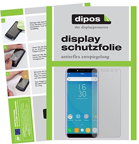 dipos I 2X Schutzfolie matt passend für Oukitel C8 Folie Bildschirmschutzfolie