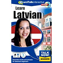 Talk Now Learn Latvian: Essential Words and Phrases for Absolute Beginners (PC/Mac)