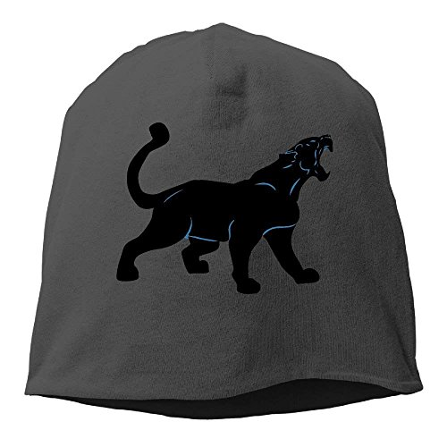 Gorgeous practical goods Black Panther Leopard Warm Stretchy Daily Beanie Hat Skull Cap Outdoor Winter