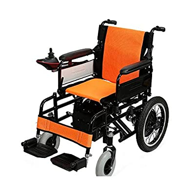 GYH Electric Wheelchair, Elderly Disabled Electric Wheelchair, Foldable Nursing Four-Wheel Electric Scooter, Load Capacity100kg (#)