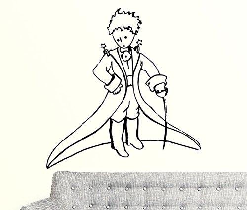 petit-prince-de-noel-en-vinyle-autocollant-mural-enfants-enfants-art-silhouette