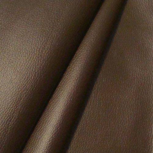 Braun Lagerung Couch (Polster PVC Kunstleder Rindsleder Optik Stoff Meterware Dunkel-Braun)