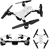 2.4G 6-Axis Drone cuadricóptero con control remoto y cámara HD drones baratos con 2.0MP Cámara plegable quadcopter Sannysis drones con camara y pantalla profesional baratos blanco