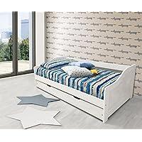 Amazon.it: letto singolo con letto estraibile: Casa e cucina