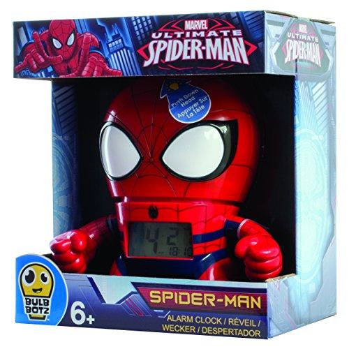 Kanaï Kids - KKC039 - Horloge Réveil - Spiderman Marvel - 19 cm - Multicolore 3558380034117