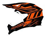 Casco Mx Oneal 2017 2Series Rl Manalishi Nero-Arancio (Xl , Arancio)