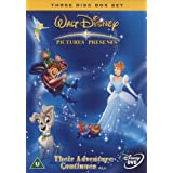 Walt Disney Classics: Cinderella 2, The Lady And The Tramp 2, The Hunchback of Notre Dame 2