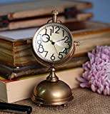 Antique Retro Vintage-Inspired Brass Metal Craft Table Clock Home Décor -5 Inch best price on Amazon @ Rs. 1120