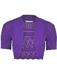 Suchergebnis Auf Amazonde Für Bolero Violett Mädchen Bekleidung