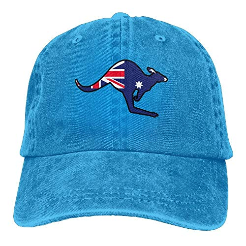 Vidmkeo Australischer Flaggen-Känguru-Hysteresen-Baumwollhut Unisex1 -