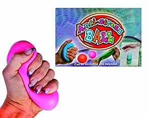 Bounce and Stretch Anti Stress Ball -Ideal Kids / Childrens Christmas / Birthday Gift or Stocking Filler