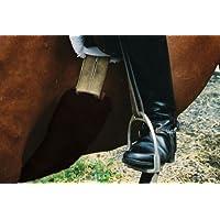 ENGEL GERMANY protector para cincha piel de cordero 80x12cm piel marrón (Bagu)