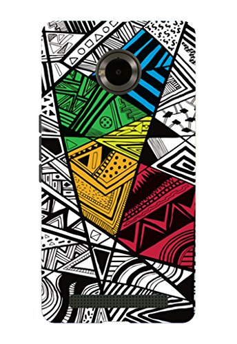 Kaira brand Designer Back Case Cover for Micromax YU Yuphoria (Color Doodle)