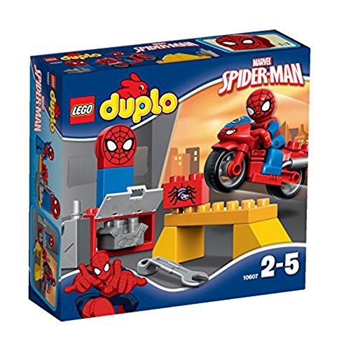 LEGO - El Taller de la Moto Araña de Spider-Man, (10607)