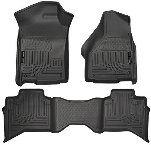 Preisvergleich Produktbild HUSKY LINERS 99011 09- Ram 1500 Quad Cab Front/2nd Seat Liners