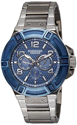 Giordano Analog Blue Dial Men's Watch-P1059-55 image