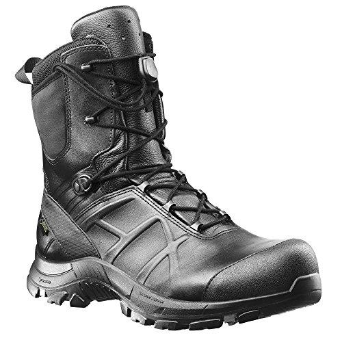 Haix Black Eagle Safety 50 High Funktionelle Einsatzstiefel: Sicherheit für Polizei, Militär und Workwear. 45 (Black Engineer-stiefel)