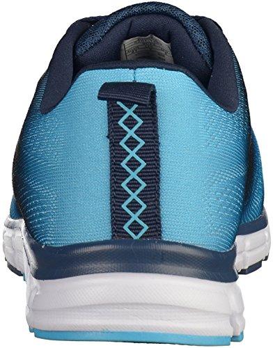 Mens Shoe 41 42 43 44 45 46 Boras spruzzato blu Moda Sport Sneaker blau