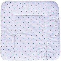 Sevira Kids–Materassino fasciatoio 75x 70morbido e lavabile con bordi rialzati–diversi colori