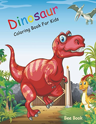 Dinosaur Coloring Book for Kids: 20 Unique Images, 2 Copies of Every Image And Single-sided Pages. Makes the Perfect Gift For Everyone.