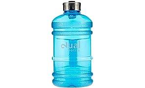 Dual Bottle - Water Jug - 2.2 Liter - Blau / Blue