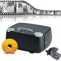 DIGITNOW! Escáner de Diapositivas/películas Convertir 35 mm 135 películas en Archivos Digitales JPG Escáner Negativo/Positivo