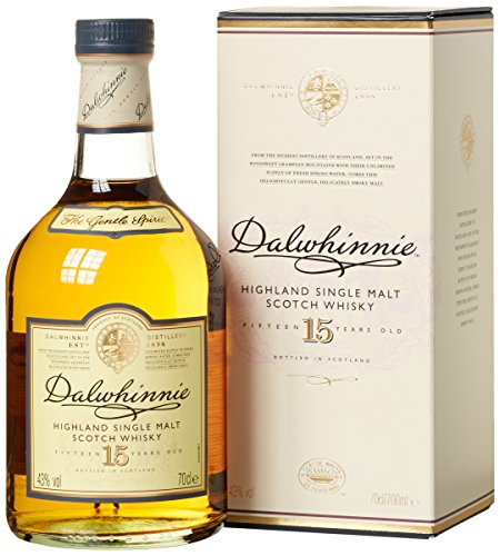 Dalwhinnie 15 Jahre Highland Single Malt Scotch Whisky (1 x 0.7 - Francisco San Honig